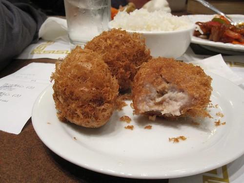 Crispy Taro Balls
