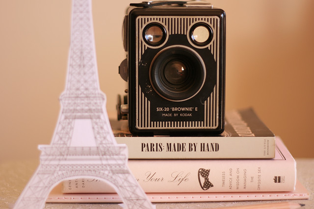 i want to take pictures in paris