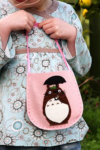 Felt Totoro bag