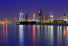 Kuwait City ( Saleh AlRashaid / www.Salehphotography.net) Tags: city blue sunset seascape reflection art beach sunrise landscape photo nikon long exposure cityscape gulf state photos outdoor middleeast arab hour arabia kuwait nano d3 gcc kuwaiti shuwaikh  q8  saleh  kuwaity      2470      stateofkuwait    d3x leefilters   kuwaitphoto kuwaitphotos kuwaitpic q8photo   q8pic    alrashaid salehalrashaid  salehphotographynet