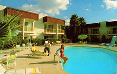 quality_inn_royal_mesa_AZ (it's better than bad) Tags: pictures travel arizona water pool architecture swimming swim vintage photography hotel photos motel roadtrip retro swimmingpool photographs 1950s postcards americana 1960s oldphotographs oldpictures googie 20thcentury bathingsuit vintagepostcards