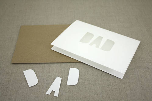 Hand Die-Cut Greeting
