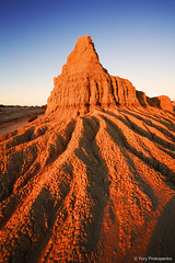 Mungo at Sunset (-yury-) Tags: park sunset lake landscape australia national nsw outback mungo supershot wallsofchina