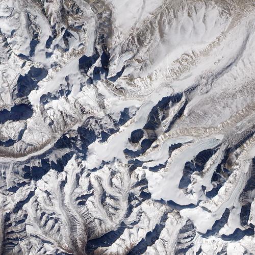 Himalayan Glaciers. NASA Photo