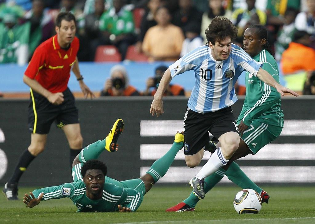 Argentina Nigeria Mundial Fútbol