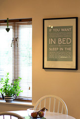 Sleep In The Kitchen (shes0nfire) Tags: house plant art ikea home kitchen poster miltonkeynes mint teapot bucks breakfastinbed olney cornersofmyhome sleepinthekitchen
