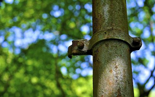 Rusting Post