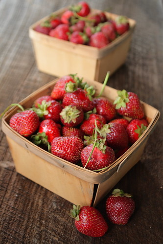 Quarts of strawberries