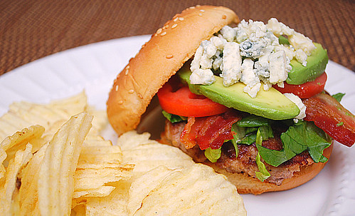 Turkey Cobb Burger