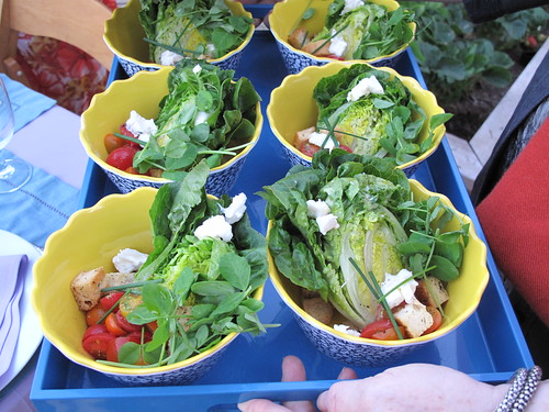Little Gem Lettuce Salads with Green Goddess dressing - courtesy of Andrew Spurgin