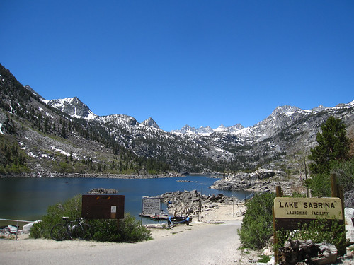 Lake Sabrina (elev. 9141ft)