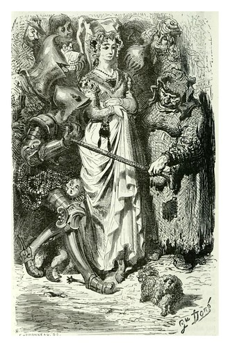 008-La virgen de Thilhouse-Les contes drolatiques…1881- Honoré de Balzac-Ilustraciones Doré