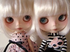 Guidance and Fiep (Vainilladolly) Tags: paris doll blythe olga custom fbl fiep guidence vainilladolly mayacomes