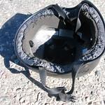Rabbit bite marks in my helmet
