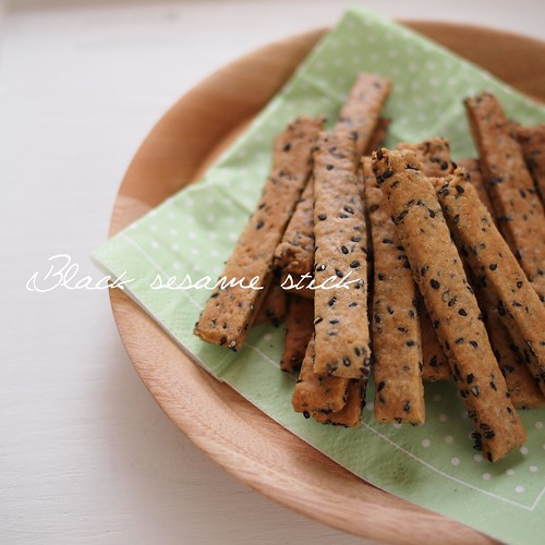 Black sesame stick