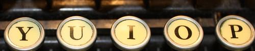 typewriter keyes