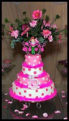 aniversario 15 anos bolos decorados