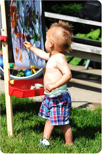 little punck rock painter