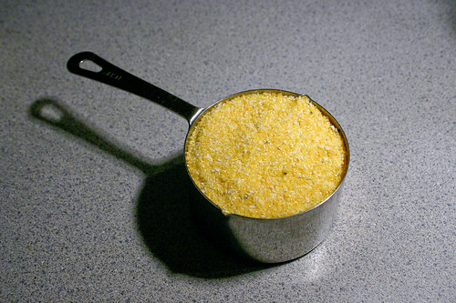 waiting to become polenta
