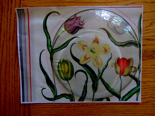 Tutorial: Decoupage Under Glass (1)