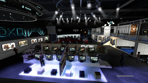 Sony Booth in PlayStation®Home - Rear