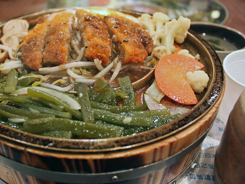 炸豬排 (Pork cutlet from 聖陶沙)