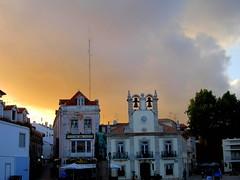 Orange county (Grey cells) Tags: ocean sea sky orange color portugal church bells atlantic cascais bocadoinferno seaface estoril