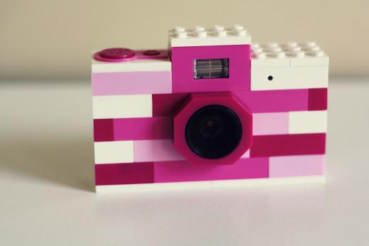 Pink Lego Camera