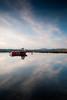 Fishing Boat, Bowmore Harbour, Islay, Scotland (jogorman) Tags: sunset sky water clouds evening scotland boat still twilight fishing nikon dusk tripod sigma explore islay loch 1020mm 1020 bowmore ecosse indaal explored jamesogorman d3x
