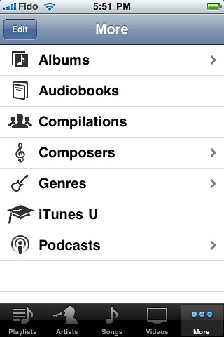 iPod repositories
