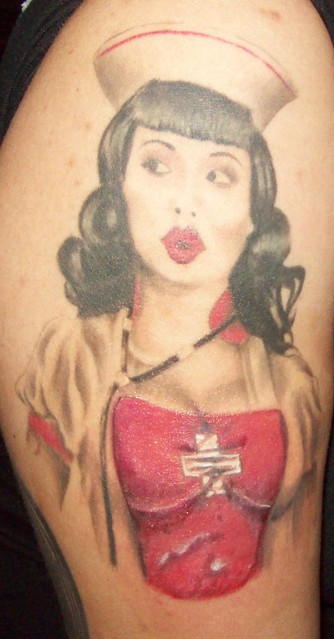 nurse after by Darkangel Tattoo Studio