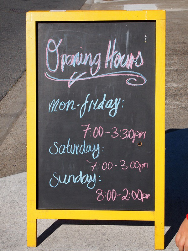 Banneton trading hours