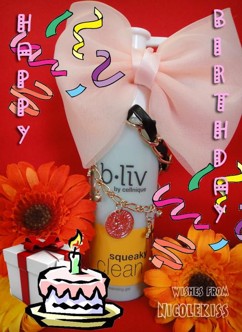 bliv birthday wish from Nicolekiss