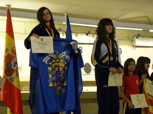 Aurora Martinez campeona y record de España