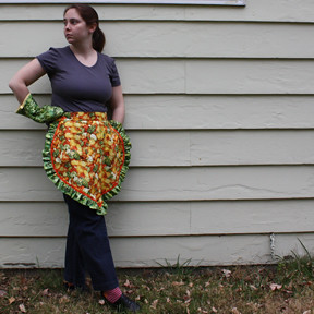Farmer John Apron - Modeled
