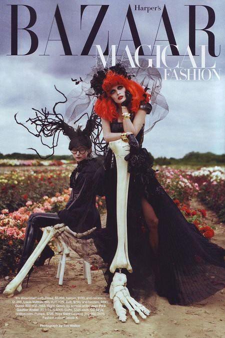 Harper's Bazaar Halloween