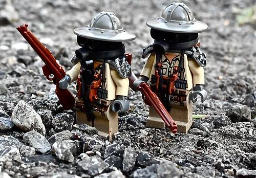 Weird War Trench Soldiers