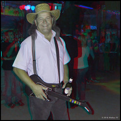 Cancun Cantina - Halloween '10 (starg82343) Tags: party halloween bar club fun tim costume stereoscopic 3d outfit md adult guitar brian makeup dressup maryland anaglyph amish indoors stereo fantasy wallace inside hanover pretend stereoscopy stereographic brianwallace stereoimage harmons adultplay cancuncantina stereopicture