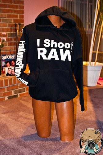 I Shoot RAW Sweat Shirt