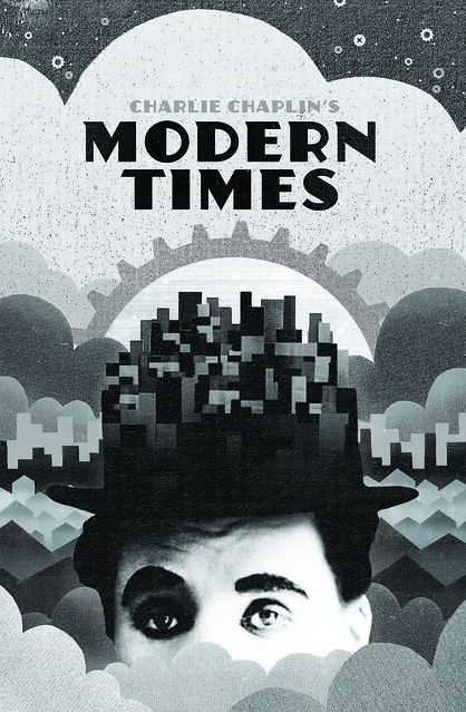 modern times charlie chaplin visual symbolism Modern times and man with a movie camera: alternate visions of the machine-human relationship in the age of mechanized industry it is difficult to imagine how two films as fundamentally different as charlie chaplin's modern times (1936) and dziga vertov's man with a movie camera (1929) could warrant a comparison.