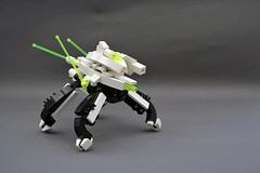 "Blacktron II ""RC Exploration Drone"" (Chiefrocker9000) Tags: lego space walker slug glug moc drone blacktronii btii swisslug neoblacktronii"