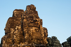Bayon temple, Angkor Wat (Alex Treadway) Tags: old city colour history tourism smile statue stone architecture mouth outdoors temple photography eyes ancient asia cambodia day looking faces ruin culture buddhism landmark angkorwat carving historic heads mysterious blocks staring eastern gazing enigmatic bayon imagining traveldestinations placeofinterest builtstructure