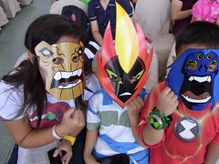 Ultimate fan fest-- Ben 10 fans were ecstatic to see the new aliens on the new Ben 10 series