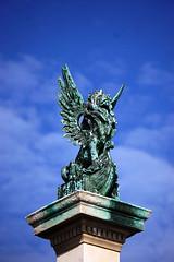 WINGED LION (H Burton) Tags: wingedlion statue