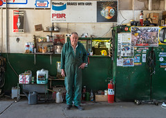 Winchelsea (Westographer) Tags: winchelsea victoria australia countrytown rural workplace workshop portrait signage signs overalls green carrepairs mechanic oldschool