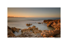 One of those moments (g.femenias) Tags: sunset sunsetlight longexposure daytimelongexposure ndfilter seascape landscape cove sea rocks mountains sacolòniadesantpere artà mallorca