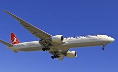 LAX/KLAX: Turkish Boeing B777-3F2/ER TC-JJN (Roland C.) Tags: lax klax tcjjn airport airplane aircraft turkish turkishairlines tk losangeles losangelesingternational boeing b777 b773er b777300er