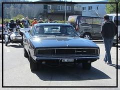 Dodge Charger, 1969 (v8dub) Tags: dodge charger 1969 schweiz suisse switzerland bleienbach american muscle mopar pkw pony voiture car wagen worldcars auto automobile automotive old oldtimer oldcar klassik classic collector
