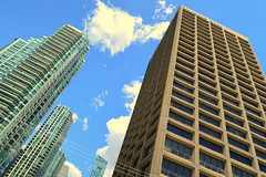Foot of Yonge Street (wyliepoon) Tags: downtown toronto queens quay yonge harbourfront waterfront street star building