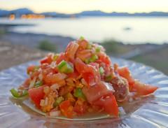 Trampó (mike828 - Miguel Duran) Tags: trampo comida food mar sea summer verano mallorca gastronomia gastronomy dof bokeh alcudia sony rx100 rx100ii rx100mk2 rx100m2